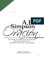 Simpson y La Oracion 2016