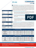 Indian Stock Market Outlook by Mansukh Investment & Trading Solutions 28/7/2010