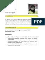 CV Nadia Latif