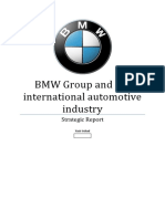 Strategic Planning - BMW Strategic Planning