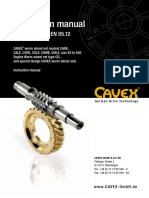 Cavex - Worm and Wheel Sets