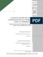 Laregulacion de Los Contratos Cccu