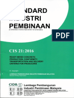 CIDB CIS 21