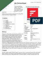 Franklin University Switzerland - Wikipedia