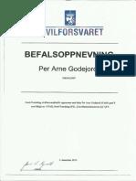 Befalsoppnevning NTSFD