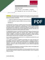 Prácticas Del Módulo II de Educación y Sociedad (Daniel Pradillo)