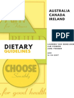 dietary guidelines across the world
