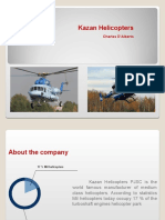 Charles DAlberto-About the company of Kazan Helicopters