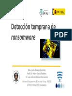 Detección temprana de ransomware en Android