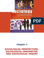 Ch 1 - Sociological Perspectives, Sociological Imagination and Sociological Inquiry