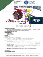 Casuta de Turta Dulce - REGULAMENT 2017