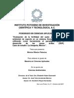 2007_Ribeiro Palacios_ Evaluacion de la fertilidad del suelo como servicio ambiental de soporte en un sistema humano -ambiental_caso de estudio Amapola.pdf