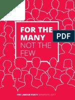 Labour Party Manifesto 2017