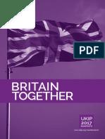 UKIP Manifesto 2017