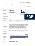 Switch Monitoring _ OpManager