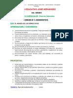 Naturales-2do Grdo 2017 - Secuencia Didactica Unidad Diagnostica