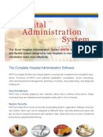 Hospital Administration System