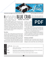 Sea Stats - Blue Crab