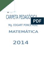 CARATULA CARPETA PEDAGÓGICA