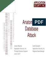 2011-06 Pre - Anatomy DB Attack