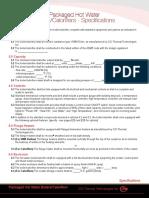 Boiler Spec Sheet
