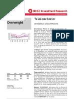 2010-Jul-28 - OCBC - Telecoms Sector