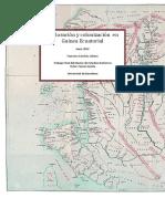 Exploraciones Colonización Guinea Ecuatorial