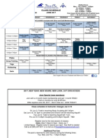 Jun 2017 Class Schedule