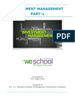 Investment Management Project