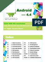 car radio android 4.4 manual