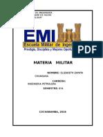 Materia Militar 3INVESTIGACIÓN