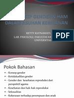 Konsep Gender & Ham Dalam Asuhan Kebidanan