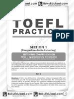 Simulasi TOEFL Buku Edukasi