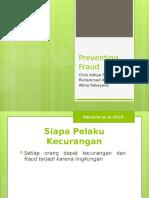 Ppt Pencegahan Fraud Kelompok 3