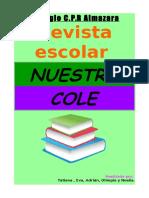 REVISTA ESCOLAR - C.P.R. ALMAZARA (Mayo 2017)