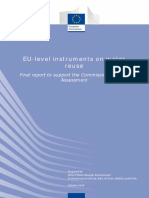 EU Level Instruments on Water-2nd-IA Support-study AMEC