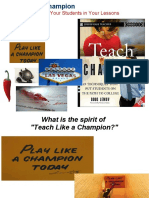 Engagement Strategies from Teach Like a Champion