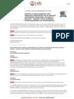 Decreto 10809-2015 Regulamento Dos Serviços Prestados Pelo SAMAE e Odebrecht Blumenau-SC