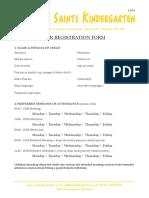 ASK Registration Form