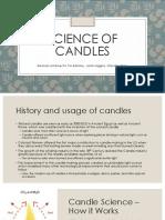 chemistry candle presentation