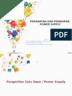 Perawatan Dan Perbaikan power supply