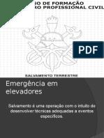 Emergência Em Elevadores