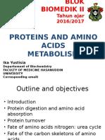 Metabolisme Protein 2016