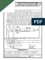 Understanding Vernier Calliper Screw Gauge and Spherometer