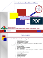 elaboration et suivi de manuel de procédures.ppt