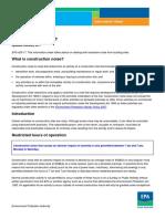 Info Noise Construction