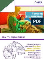 SIJARIEMAS sosialisasi ke bidan - format.pptx