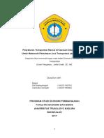 Penyebaran Transportasi Massal di Kawasan Industri Perkotaan Untuk Memenuhi Permintaan Jasa Transportasi yang Terintegrasi