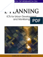 Carlos Nunes Silva Handbook of Research on E-Planning ICTs for Urban Development and Monitoring