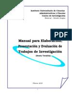 Manual Iucaf 2015